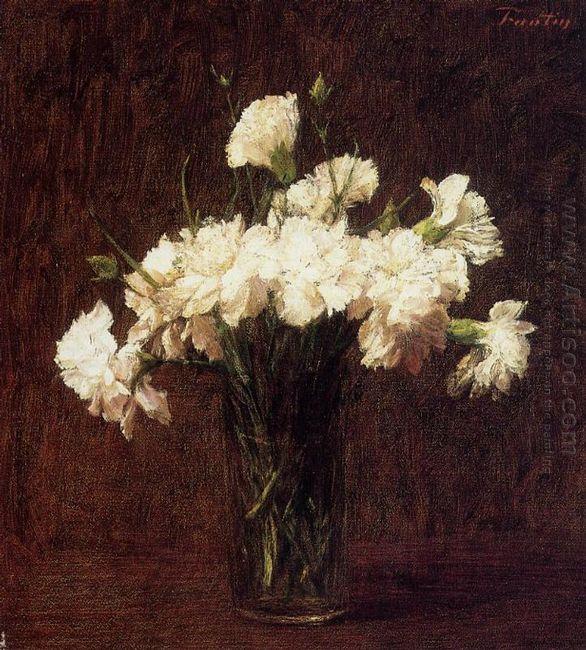 White Carnations 1904