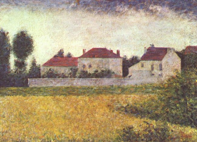White Houses Ville D Avray 1882