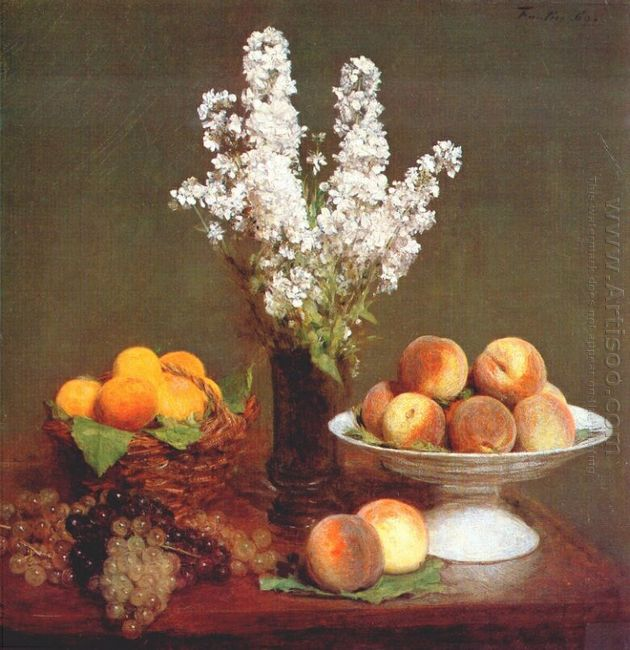 White Rockets And Fruit 1869
