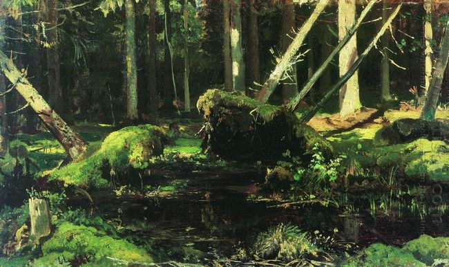 Wind Fallen Trees 1887