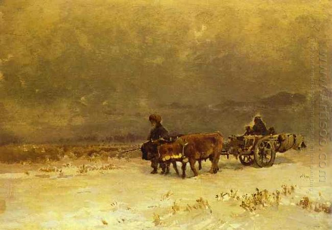 Winter In The Crimea 1873