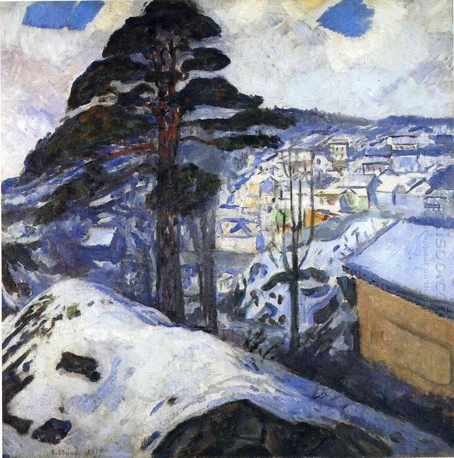 Winter Kragero 1912