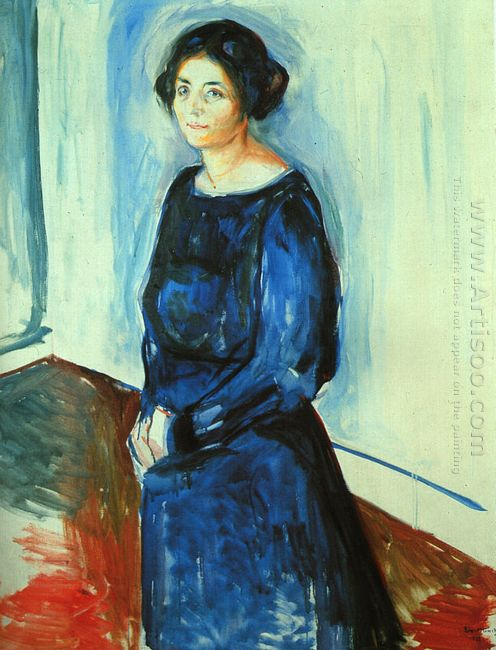 Woman In Blue Frau Barth 1921