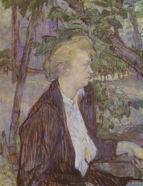 Woman In The Garden 1891