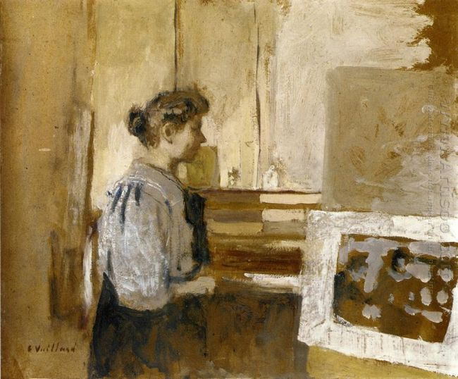 Woman In The Studio