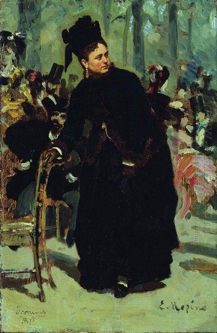 Woman Study 1875