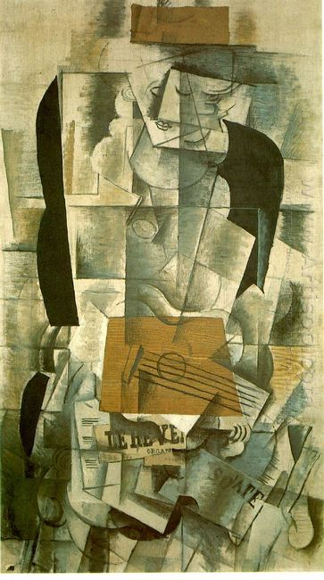Woman With A Guitar 1913
