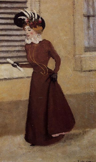 Woman With A Plumed Hat 1895