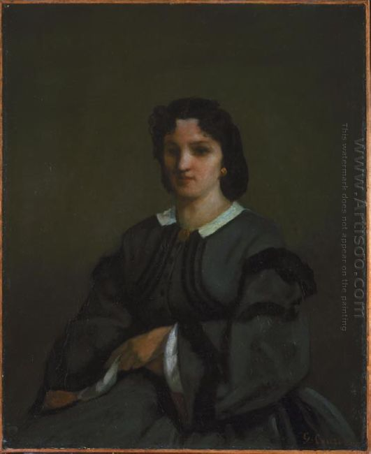 Woman With Gloves 1858