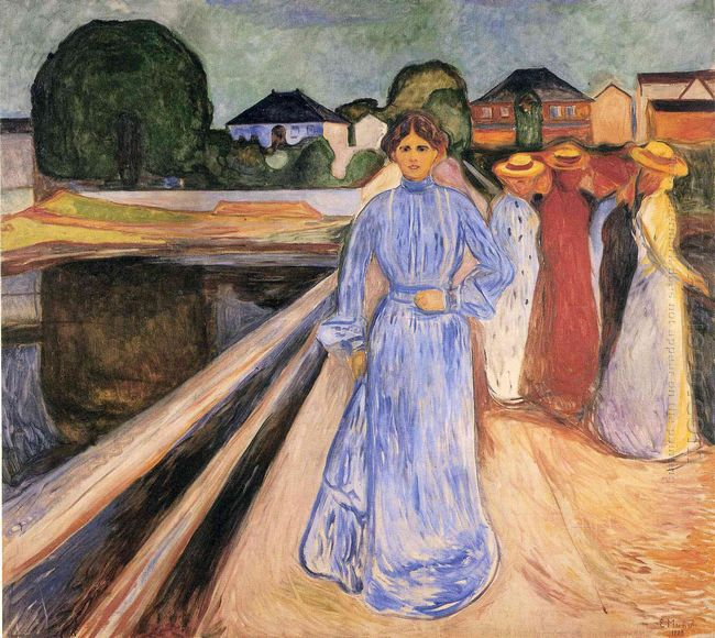 Women On The Bridge 1902