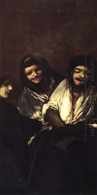 Young People Laughing 1823
