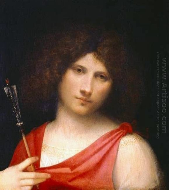 Youth Holding An Arrow 1505