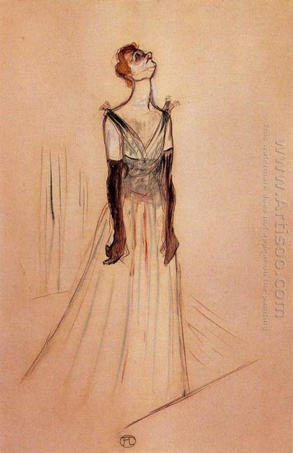 Yvette Guilbert 1893