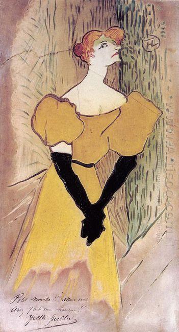 Yvette Guilbert 1895