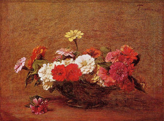Zinnias 1891 1