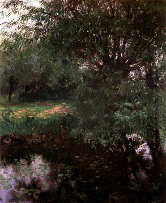 A Backwater At Wargrave 1887