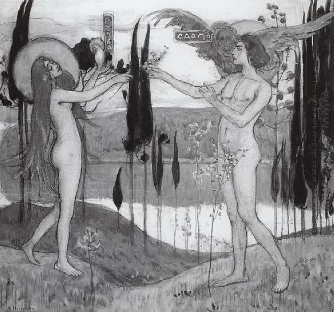 Adam And Eve 1898