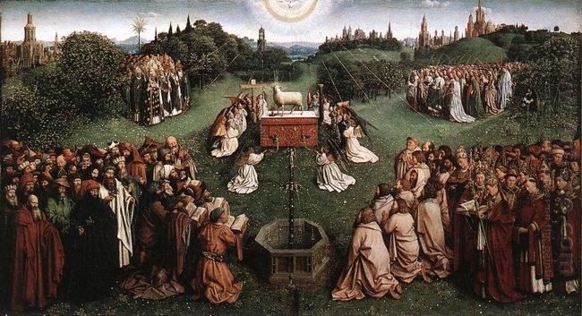 Adoration Of The Lamb 1429