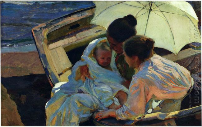 After The Bath 1902