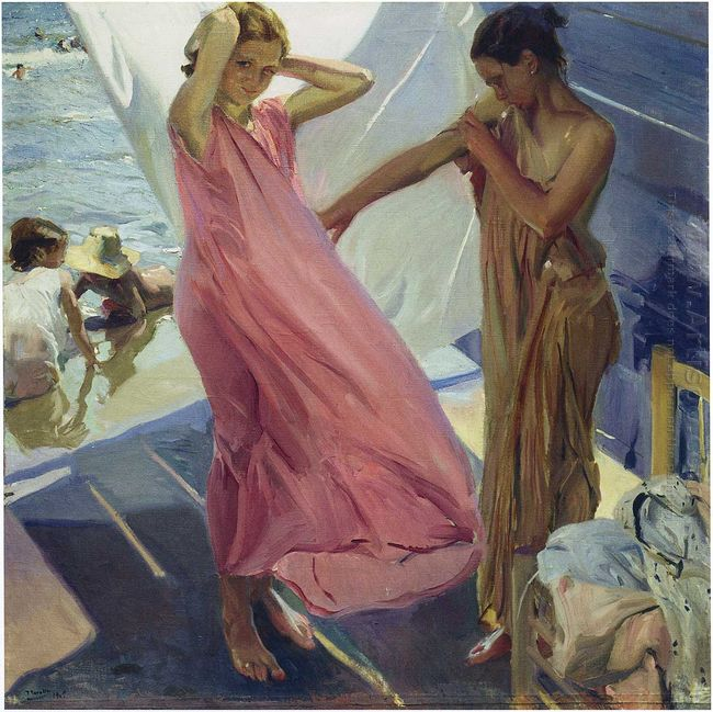 After The Bath Valencia 1916