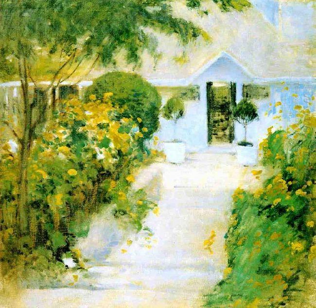 A Garden Path 1899
