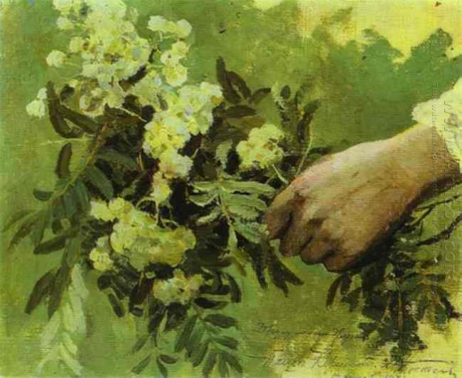 A Hand With Flowers