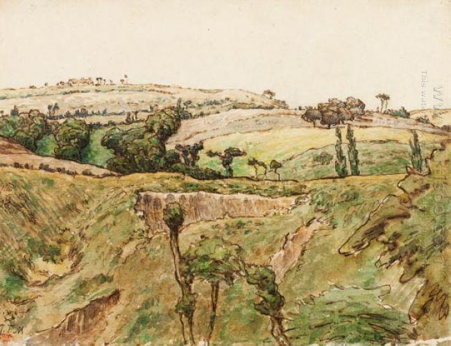 A Hilly Landscape 1867