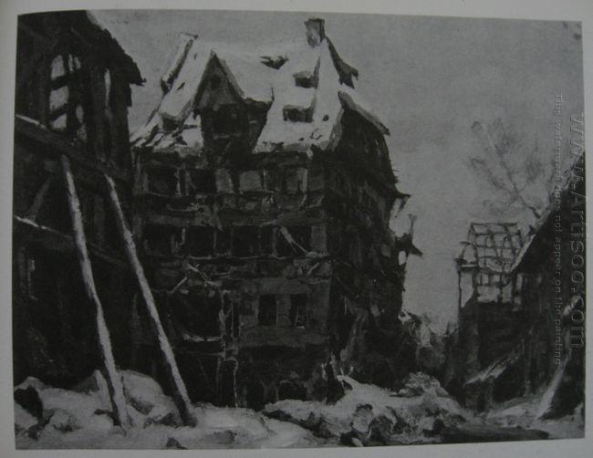Albrecht Durer House In Nuremberg 1945