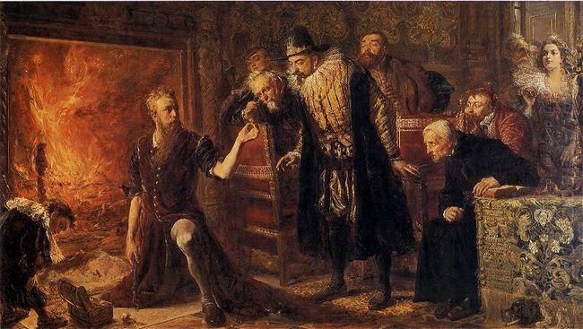 Alchemist Sendivogius 1867