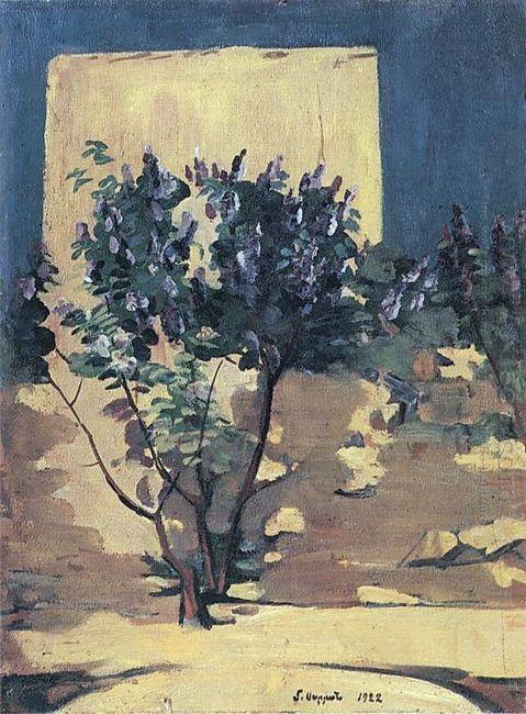 A Lilac Bush 1922