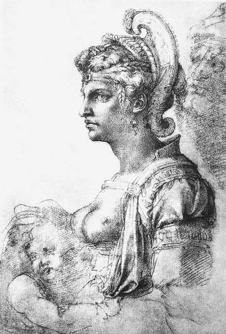 Allegorical Figure 1530