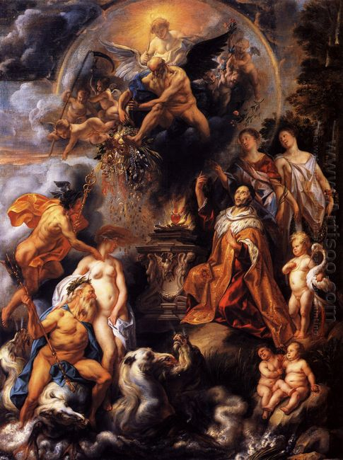 Allegory Of The Peace Of Westphalia 1654