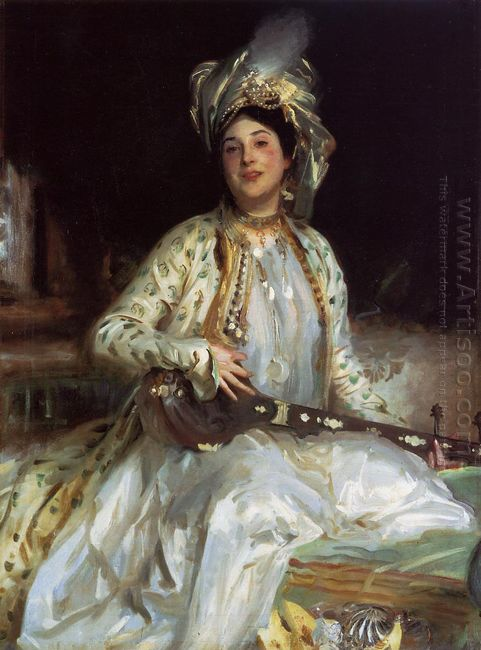 Almina Daughter Of Asher Wertheimer 1908