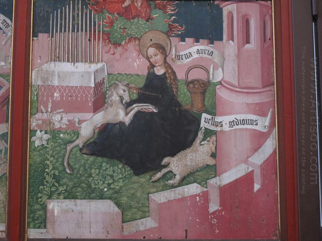 Altarpiece Of The Dominicans The Mystical Hunt