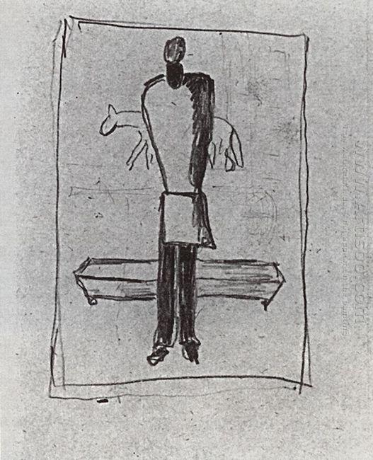 A Man A Coffin Horse 1933
