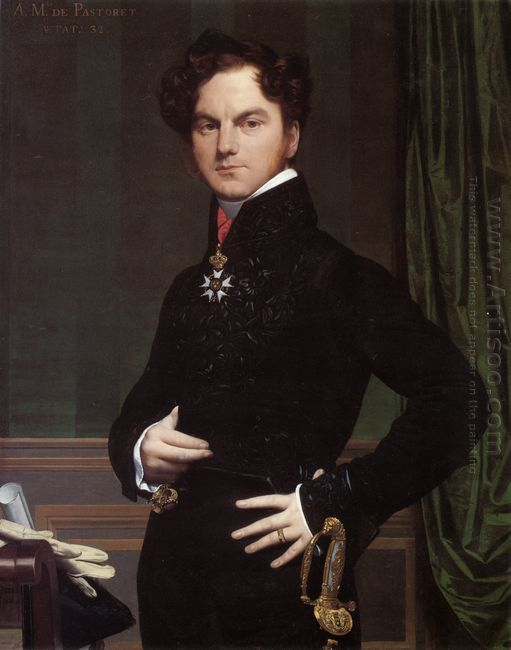 Amedee David The Comte De Pastoret 1826