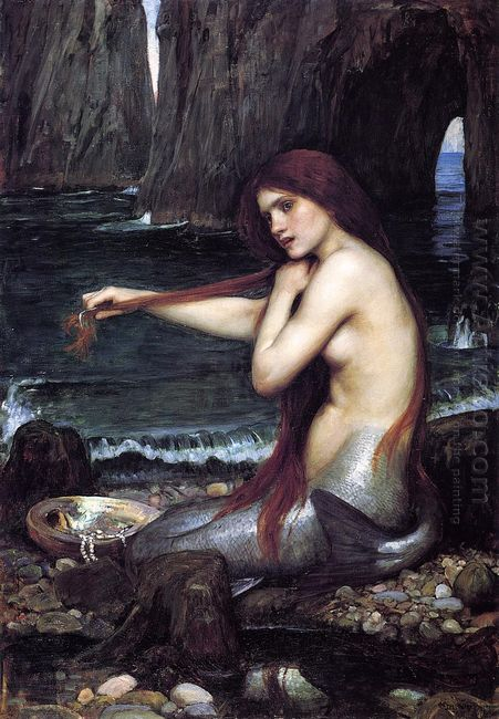 A Mermaid 1900