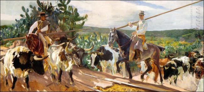 Andalusia The Round Up 1914