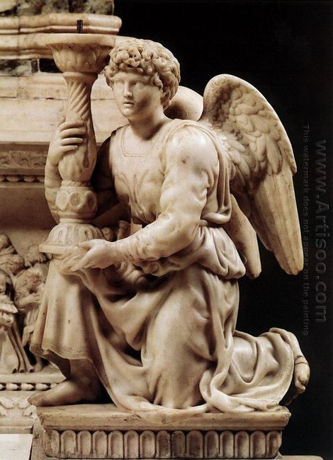 Angel With Candlestick 1495