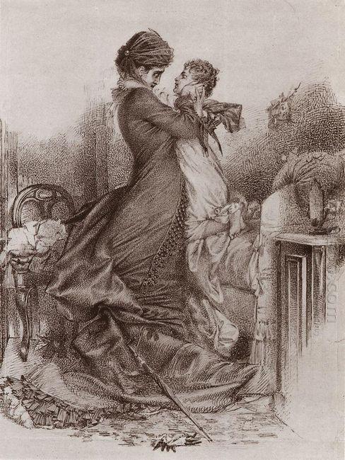 Anna Karenina Meets Her Son 1878