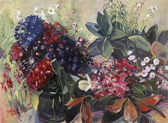 Anniversary Flowers 1955
