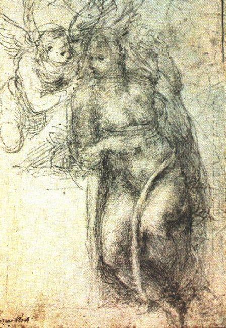 Annunciation Study 1547