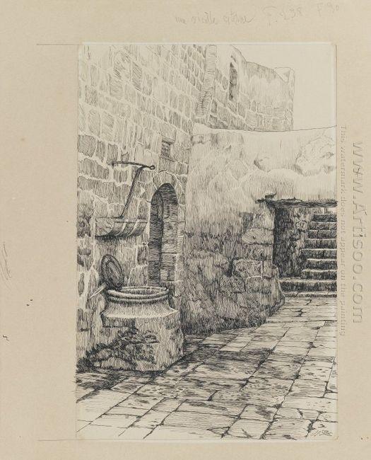 An Old Cistern 1889