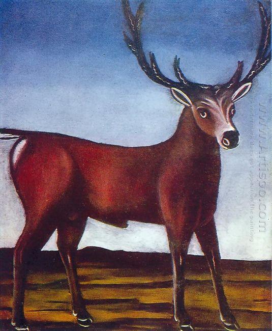Antlered Deer