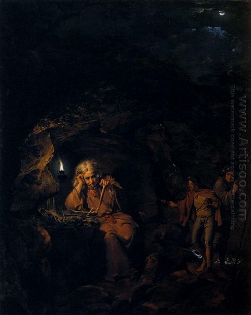 A Philosopher By Lamp Light 1769
