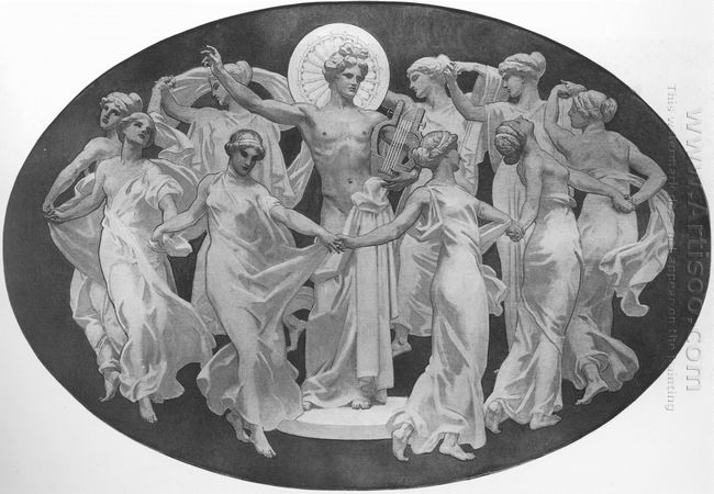 Apollo And The Muses 1921