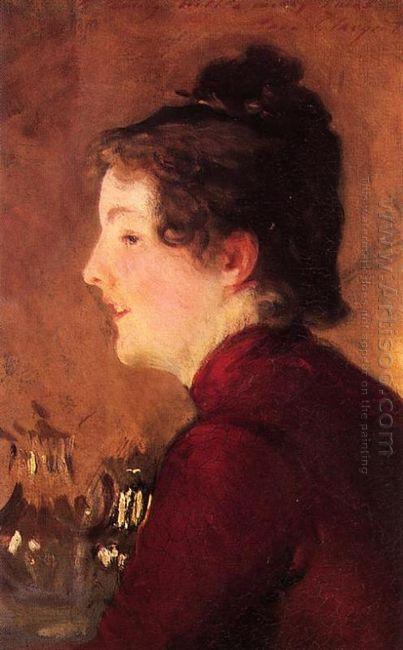 A Portrait Of Violet 1889