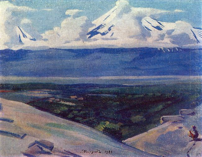 Ararat In Clouds 1923