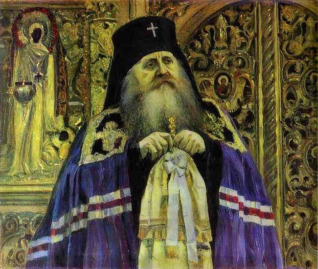 Archbishop Portrait Of Antoniy Volynskiy 1917