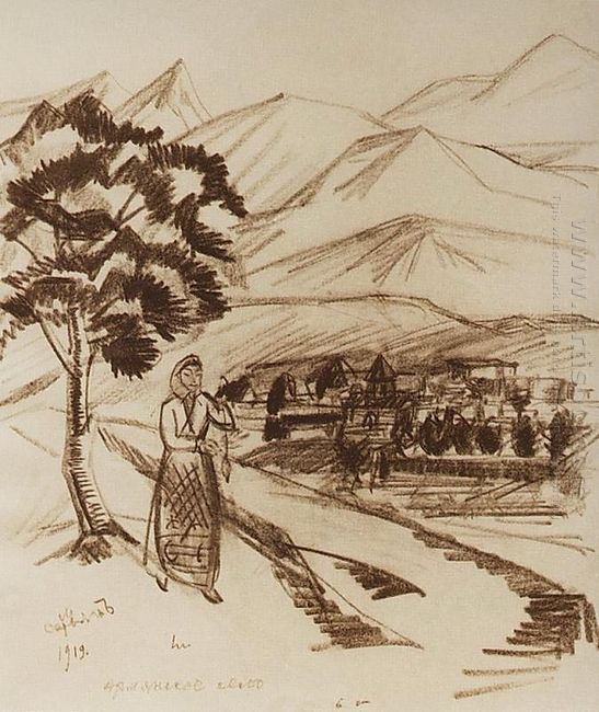 Armenian Village 1919